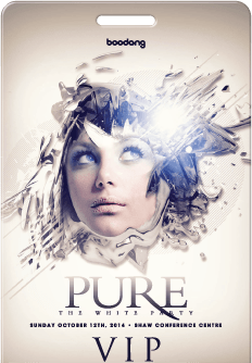 Pure: The White Party VIP Pass